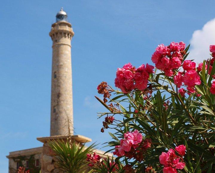 cabo de palos shore dive lighthouse