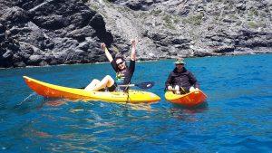 kayaking safari's